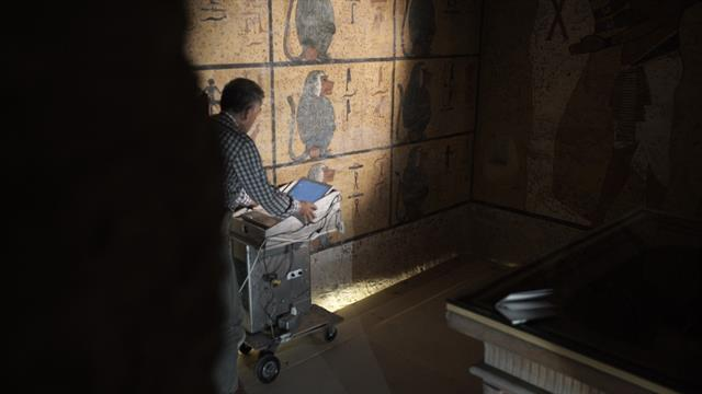 The Curse Of King Tuts Tomb Torrent: King Tut Tomb Scans Support Theory Of Hidden Chamber
