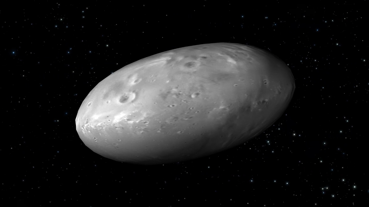 Hydra Moon: Pluto's Moons Dance To A Random Beat