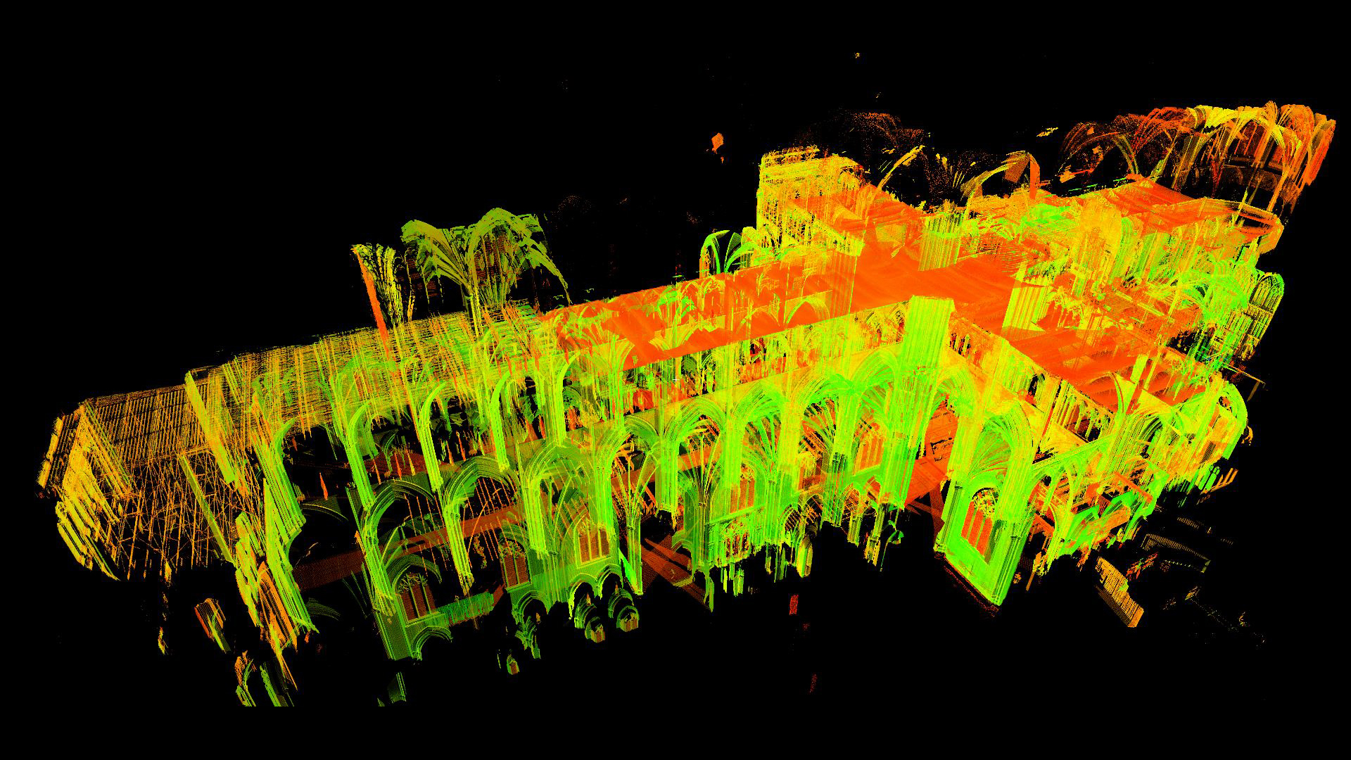 Historian Uses Lasers To Unlock Mysteries Of Gothic Cathedrals