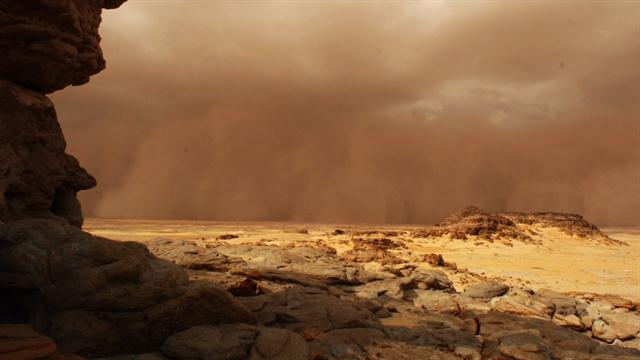 Mega Dust Storms