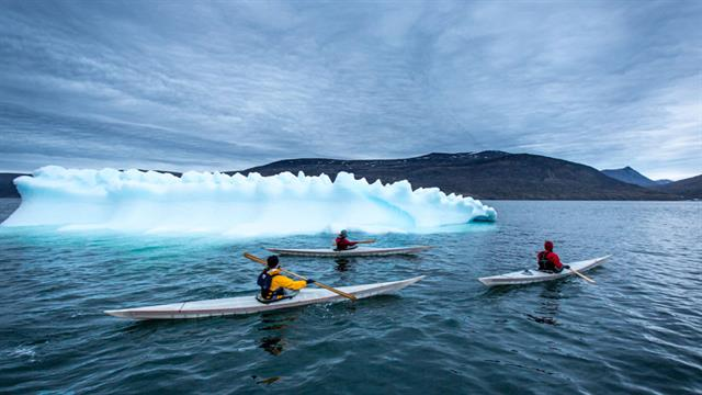 Four friends set out on a 621-mile expedition across the southern part of Baffin Island.