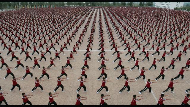 Vidéo génération asiatique kung fu