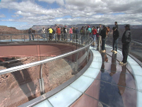 Glass Bottom Skywalk Grand Canyon Arizona Crazy2read