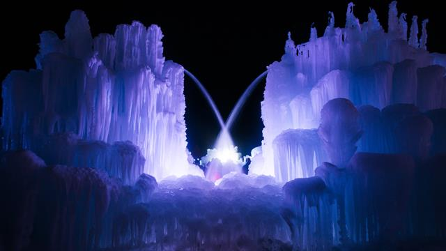Ice Castle Closes Due To Utah S Warm Winter