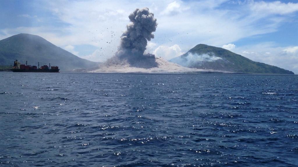 Astounding Video of Volcano Shock Wave