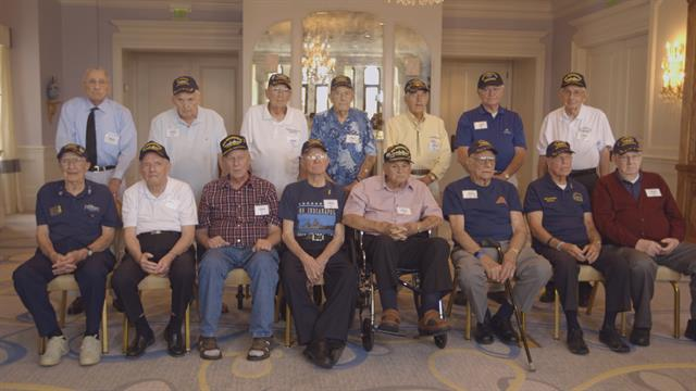 Sinking In Shark Infested Waters Wwii Survivors Recall Navy Disaster