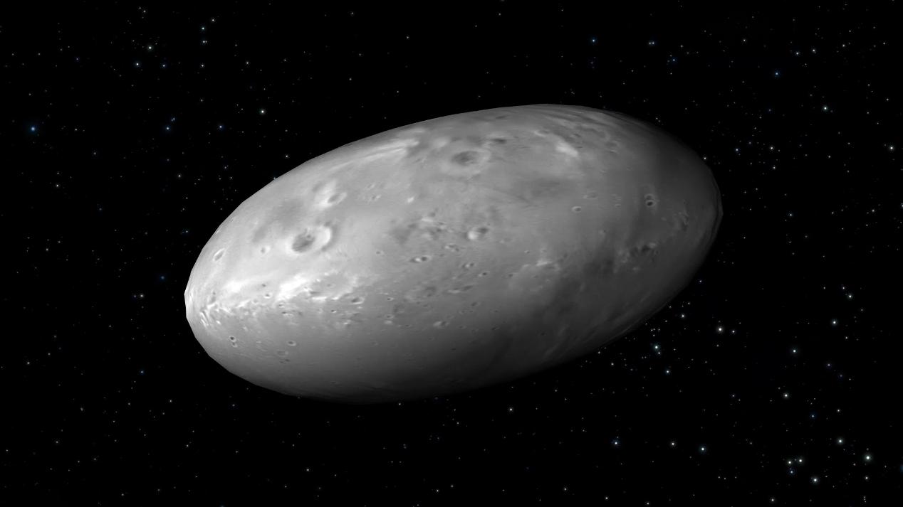 Kerberos Moon Of Plluto: Pluto's Moons Dance To A Random Beat