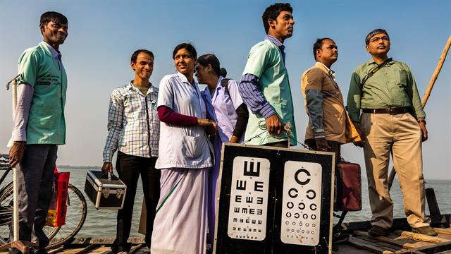 Helping The Blind To See In India S Hard To Reach Villages