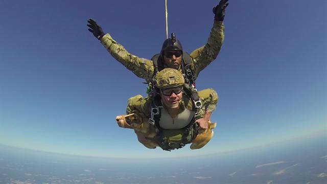3 Legged Military Dog Skydives To Test Canine Combat Vest