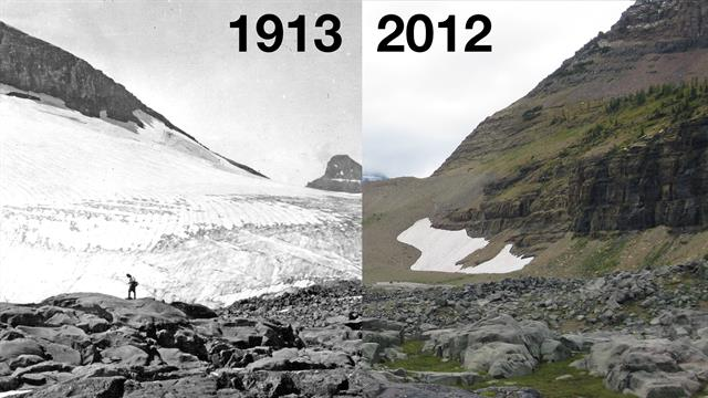 the impact of decreasing glaciers on climate change The glaciers will initially provide extra runoff from melting but as the ice  climate change and its impacts on glaciers and permafrost in the alps ambio 27, 258-.