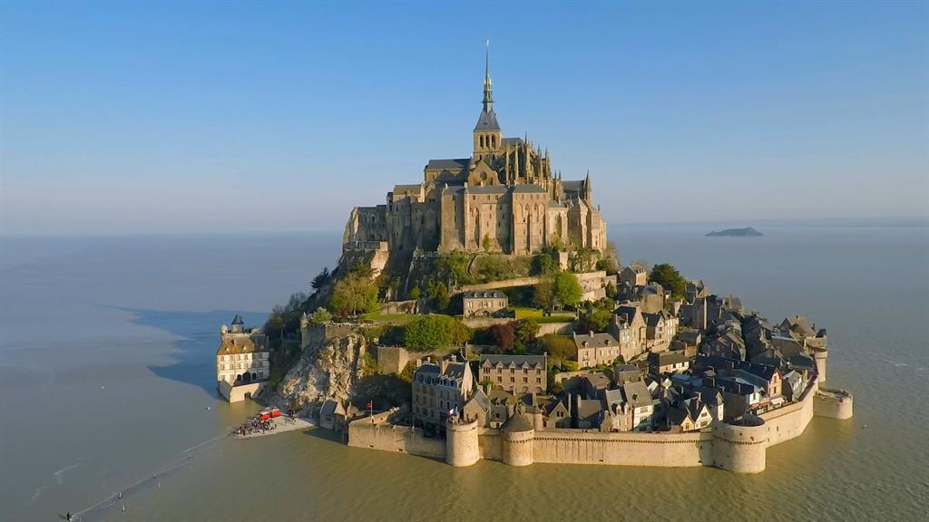 Get A Bird S Eye View Of The Famous Mont Saint Michel