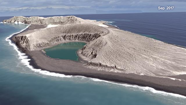 New Volcanic Island May Survive Much Longer Than Expected