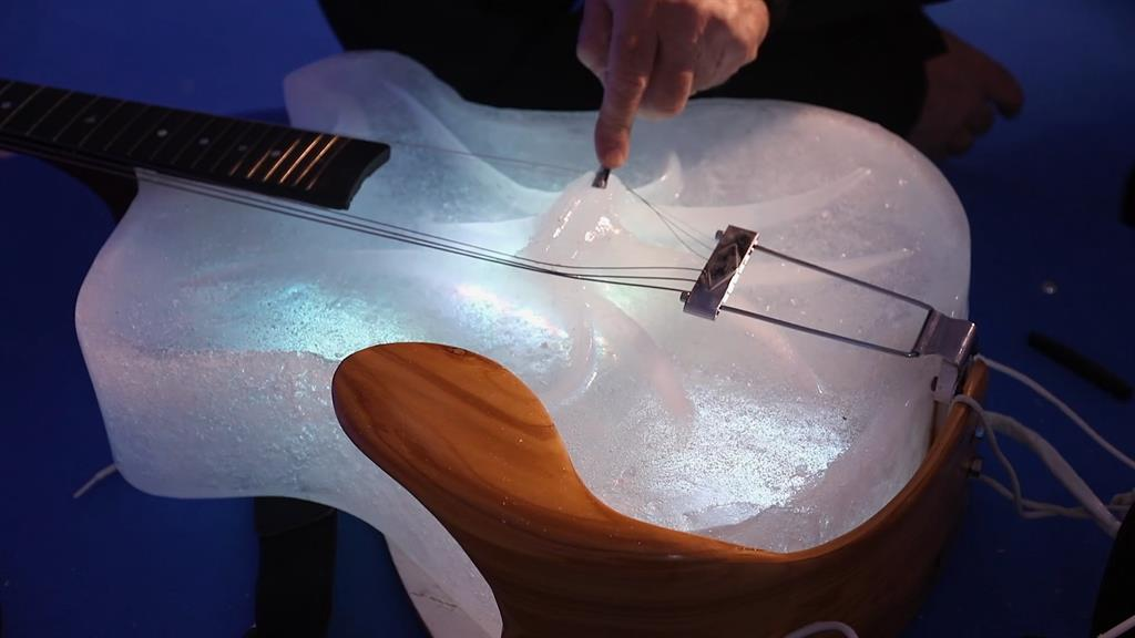 Coolest Concert Ever? Hear Ice Instruments Play Beautiful Music