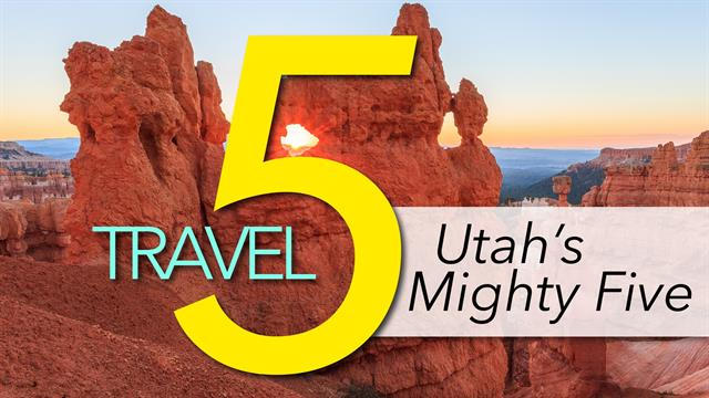 The Mighty Five Utah Map.See Utah S Mighty 5 National Parks