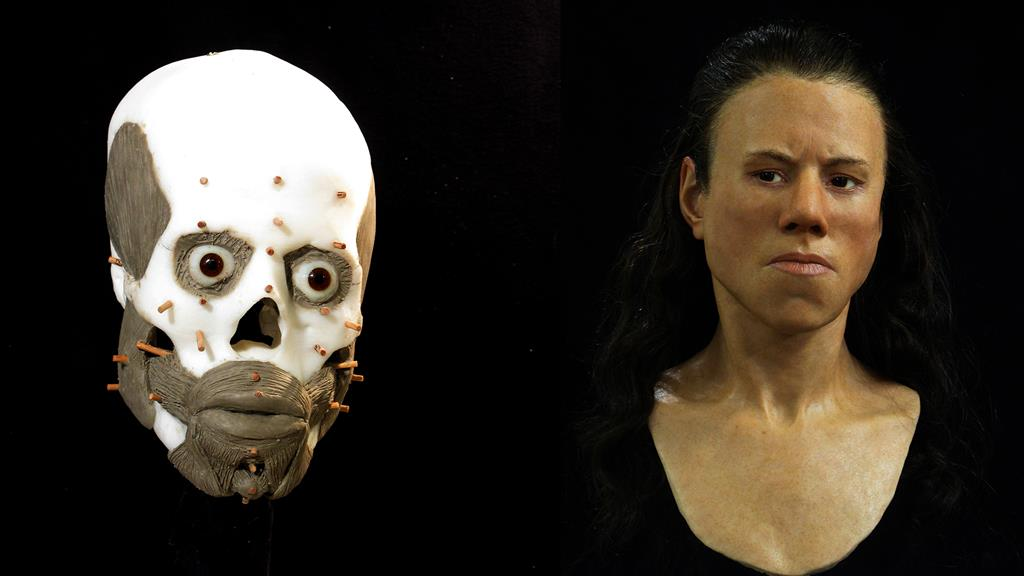 Forensic Facial Reconstruction Reveals 9,000-Year-Old Face