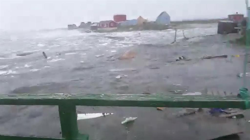 Dramatic Video Shows Deadly Tsunami Hitting Greenland