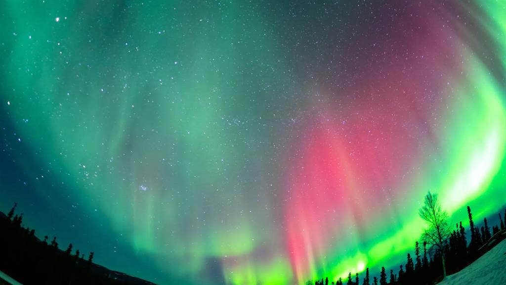 Brilliant Time Lapse Of Alaska S Northern Lights