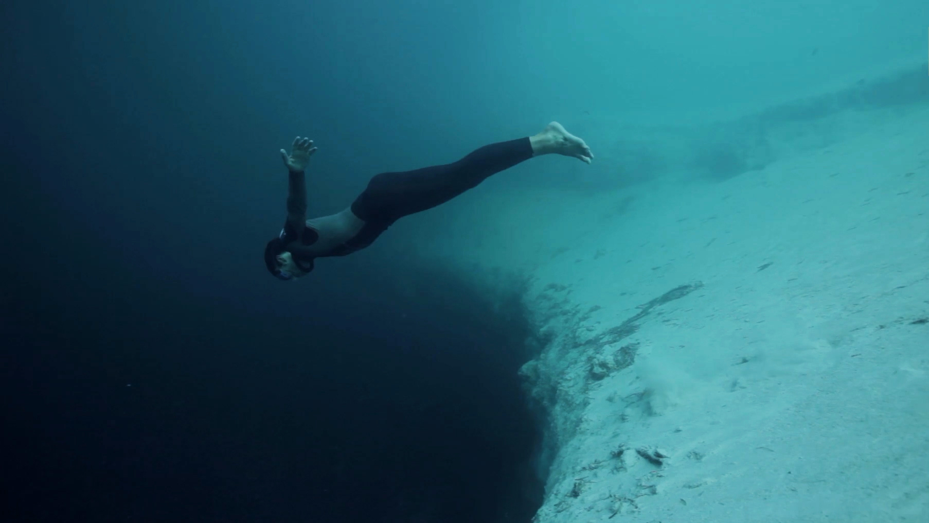 Free Diving Into the Void