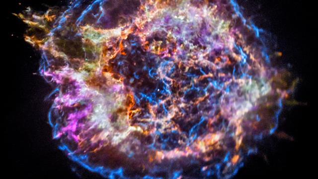 See How a Massive Supernova Released the Building Blocks of Life