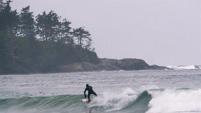 Rain Cold Canada Perfect Surf