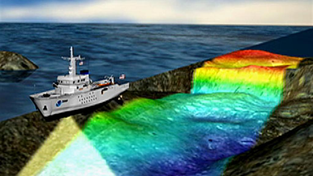 "Scientists ""See"" Ocean Floor via Sonar"