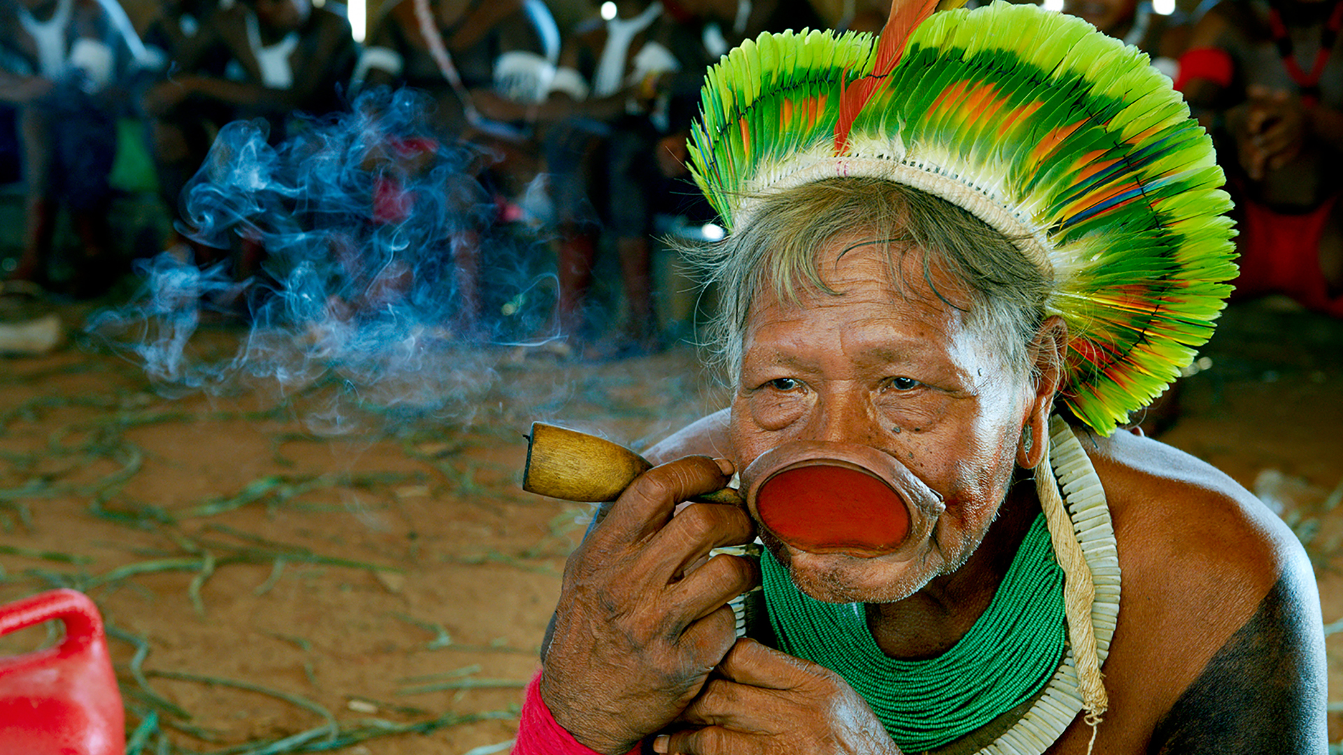 Martin Schoeller: Kayapo Warrior Tribe