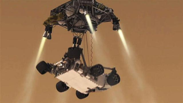 how did mars landing go today - photo #18