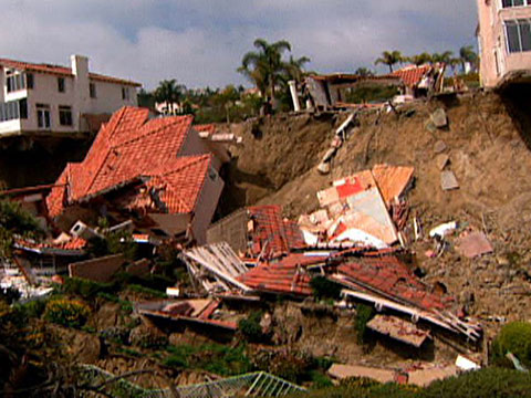 how do landslides affect humans