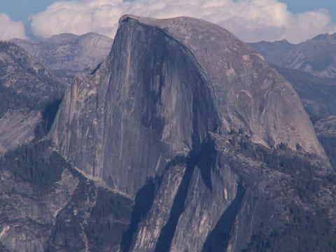 Lightning Peril on Yosemite's Half Dome